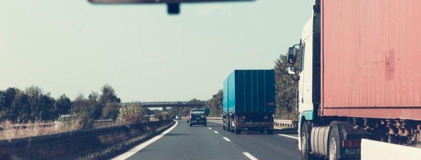 Trucks on Highways