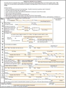 SR13 Accident Form